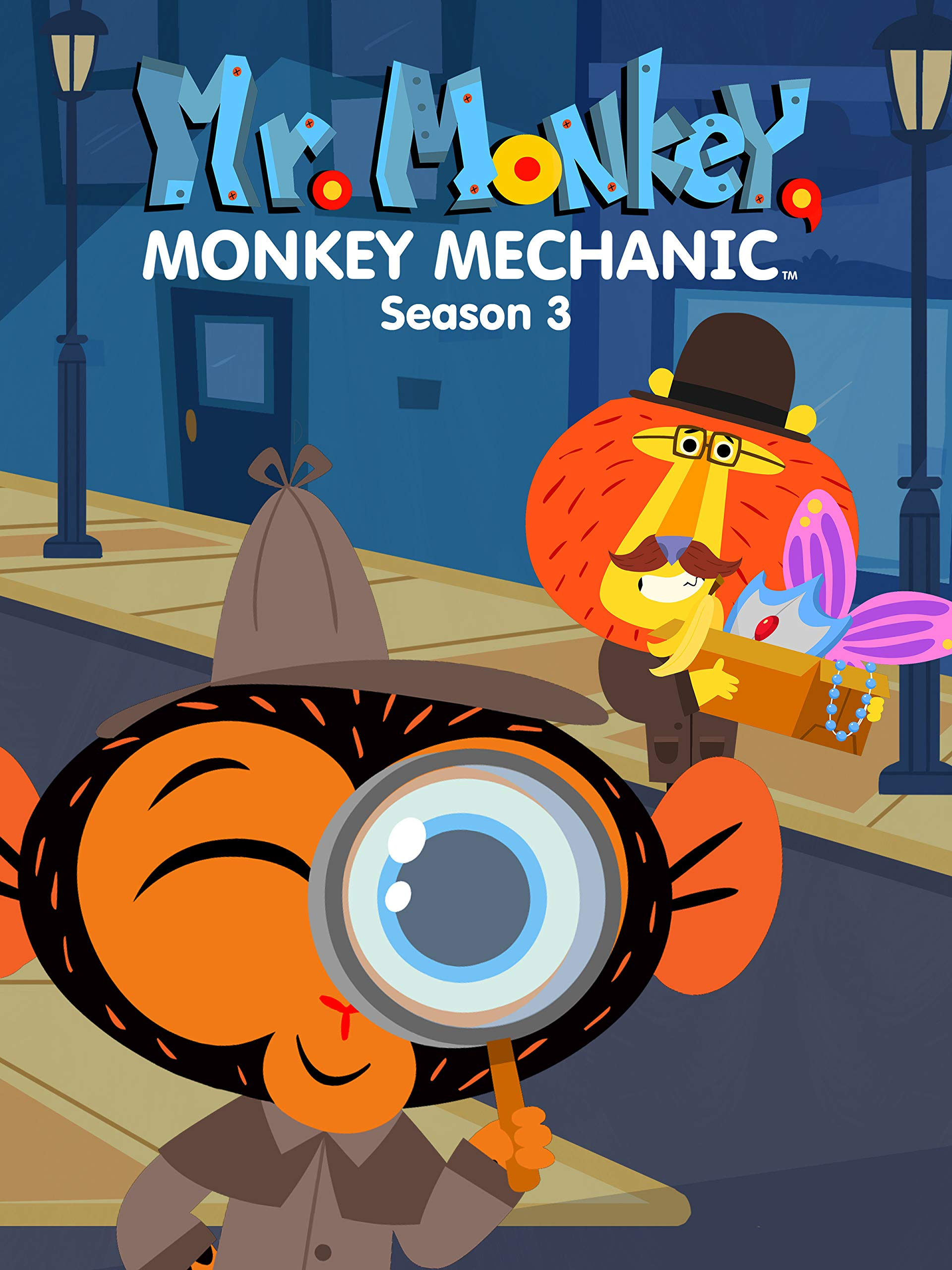 Mr. Monkey, Monkey Mechanic - Season 3