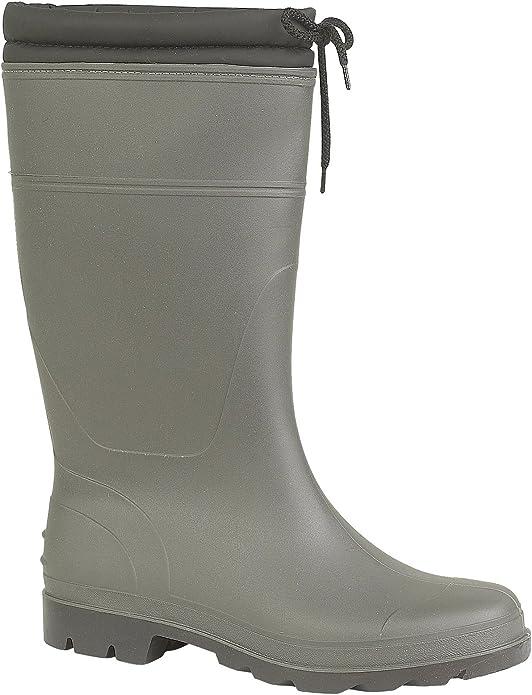 Mirak VAPOUR Ladies Waterproof Comfortable Snow Rain Cosy Wellington Boots Green