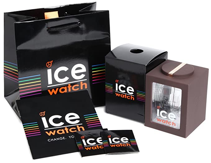 Amazon.com: Ice-Watch - Ice-Style - Brown - Big (48mm) Silicone Quartz Mens Analog Watch - IS.BNR.B.S.13 by Ice: Ice-Watch: Watches
