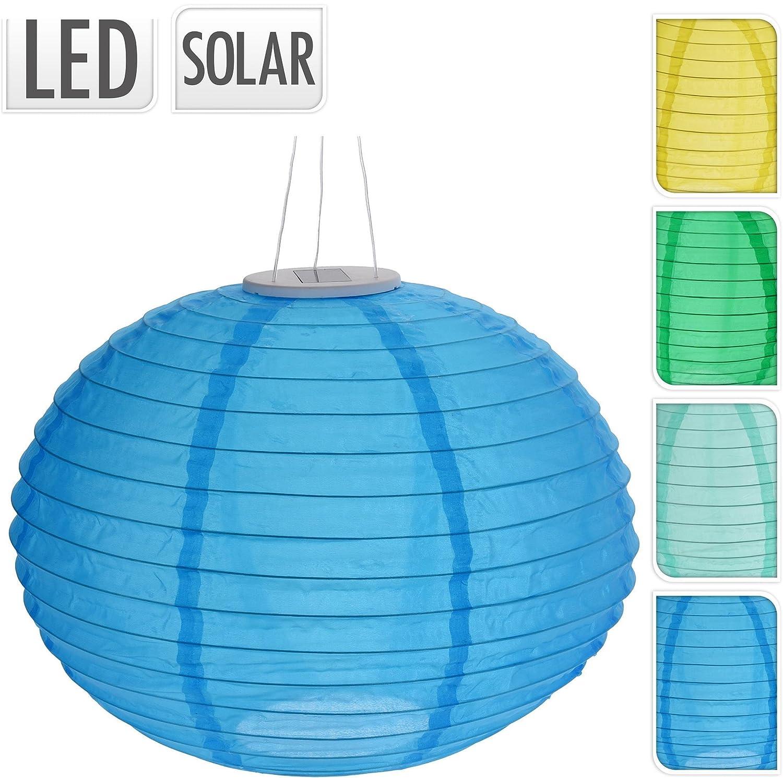 LED Gartenbeleuchtung mit Akku Solar Lampion OVAL Dekobeleuchtung Partybeleuchtung t/ürkis