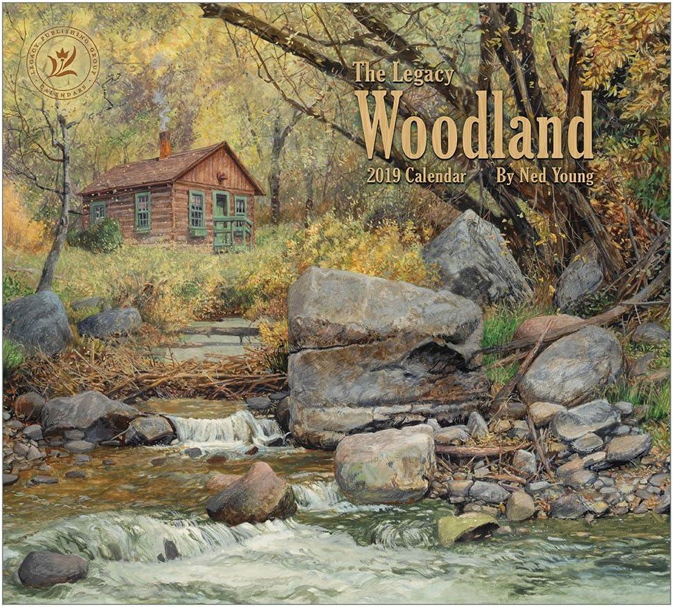 2019 Wall Calendar, Woodland Calendar