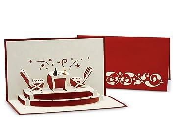 Gruß- & Glückwunschkarte für Essens-Einladung und Restaurant ...