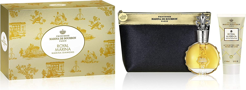 Banner kit feminino - Royal Marina Diamond + lotion + necessarie
