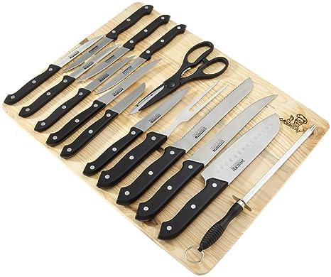 Masterchef - Juego de cuchillos de cocina (16 piezas ...