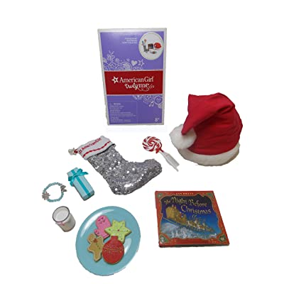 "American Girl Truly Me Christmas Eve Set for 18"" Dolls: Toys & Games"