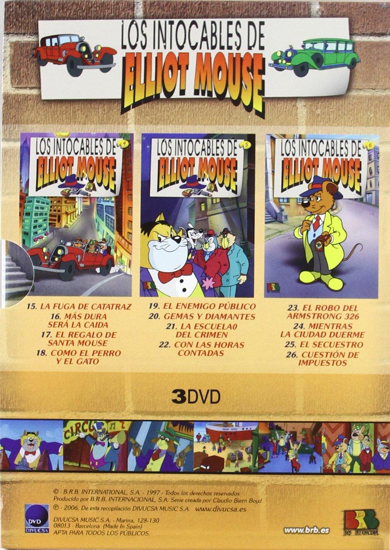 Los Intocables De Elliot Mouse 2 (3dvd): Amazon.es: Varios: Cine y Series TV