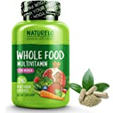 NATURELO Whole Food Multivitamin for Women - Natural Vitamins, Minerals, Antioxidants, Organic Extracts - Vegan/Vegetarian - Best for Energy, Brain, Heart, Eye Health - 240 Capsules