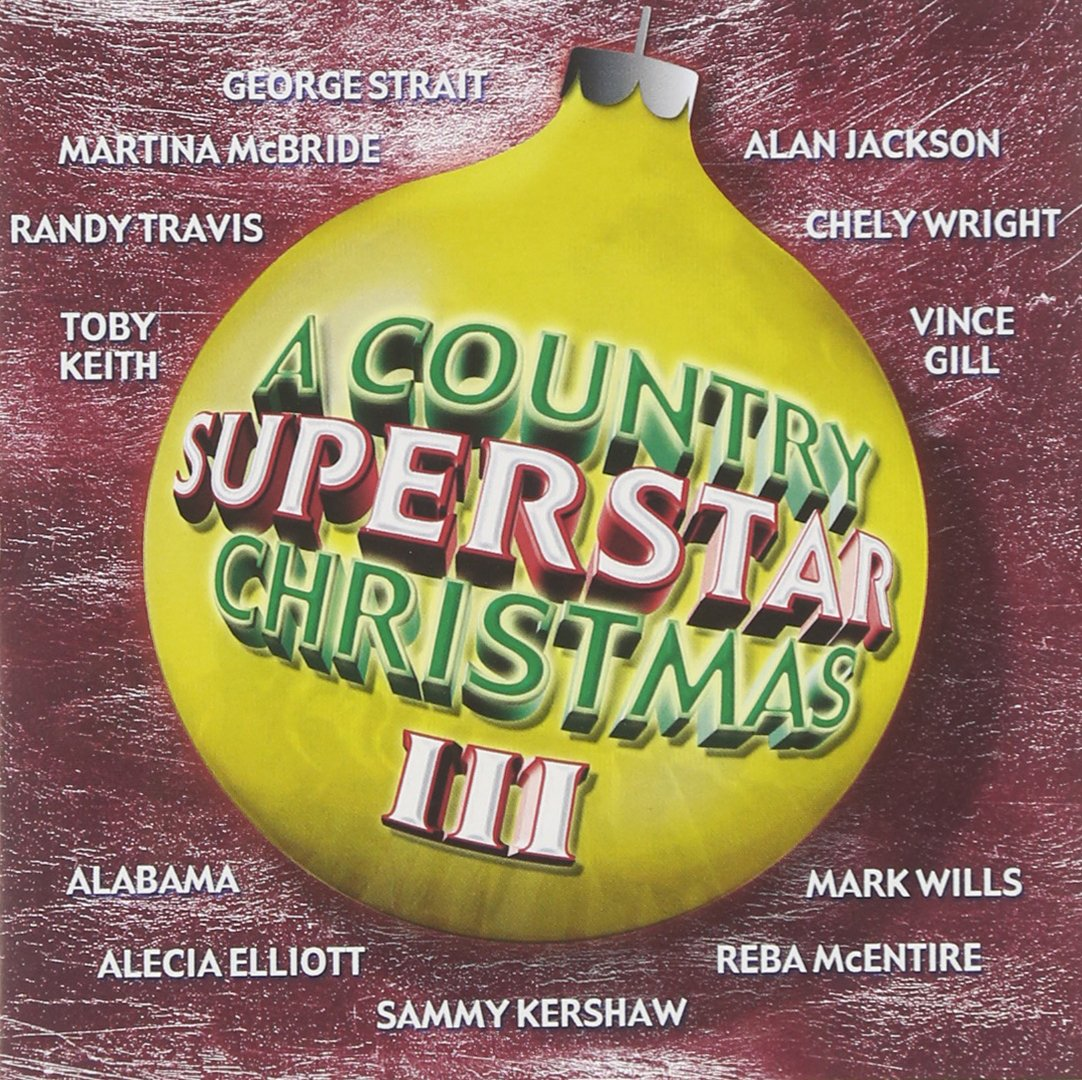 CD : Various Artists - A Country Superstar Christmas, Vol. 3