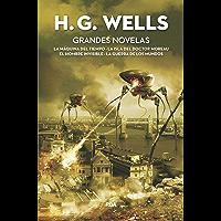 Grandes Novelas: La máquina del tiempo - La isla del doctor Moreau - El hombre invisible - La guerra de los mundos (FICCIÓN GENERAL)