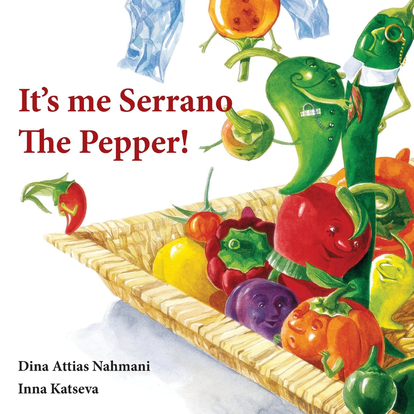 It's me, Serrano The Pepper! pdf
