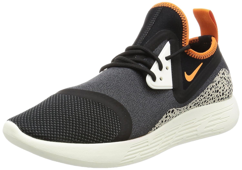 Nike - Zapatillas de Deporte de material sintético Infantil BLANK |Black Clay Orange 081
