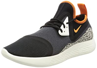 a71672a9f6 Image Unavailable. Image not available for. Colour: Nike Men's Lunarcharge  Essential Ankle-High Fabric Running Shoe ...