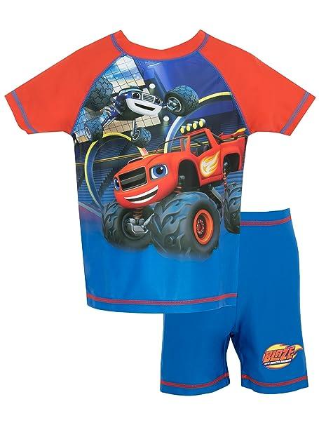 Blaze y los Monster Machines - Bañador de dos piezas para niño - Blaze and the