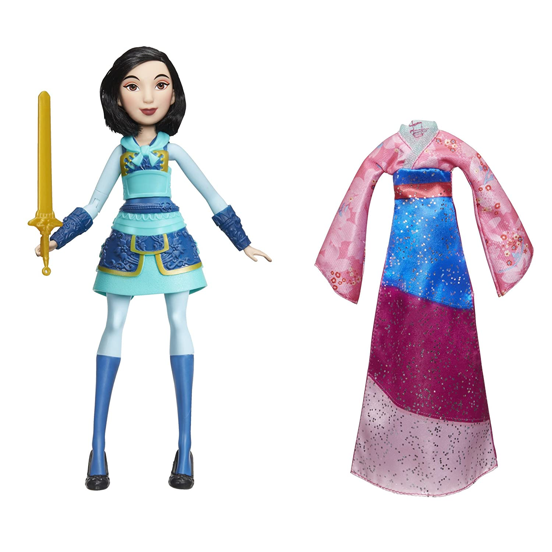 Disney Princess Adventure Mulan Fashion Doll   B076T36GDD