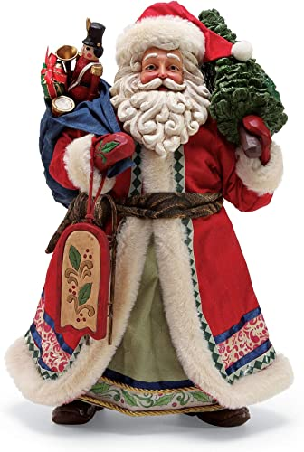 Department 56 Jim Shore Limited Edition Santa, 12.5 Figurine, Multicolor