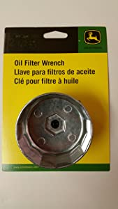 """John Deere 2 1/2"""" Cap Style Filter Wrench TY26639 Fits AM107423 Filter"""
