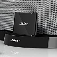 Ziocom Bluetooth Audio Adapter Music Receiver 8 pin Bluetooth 4.2 Wireless Converter Perfect for Bose Sounddock III/XT, JBL MS302GM,Philips DS1155B / 93