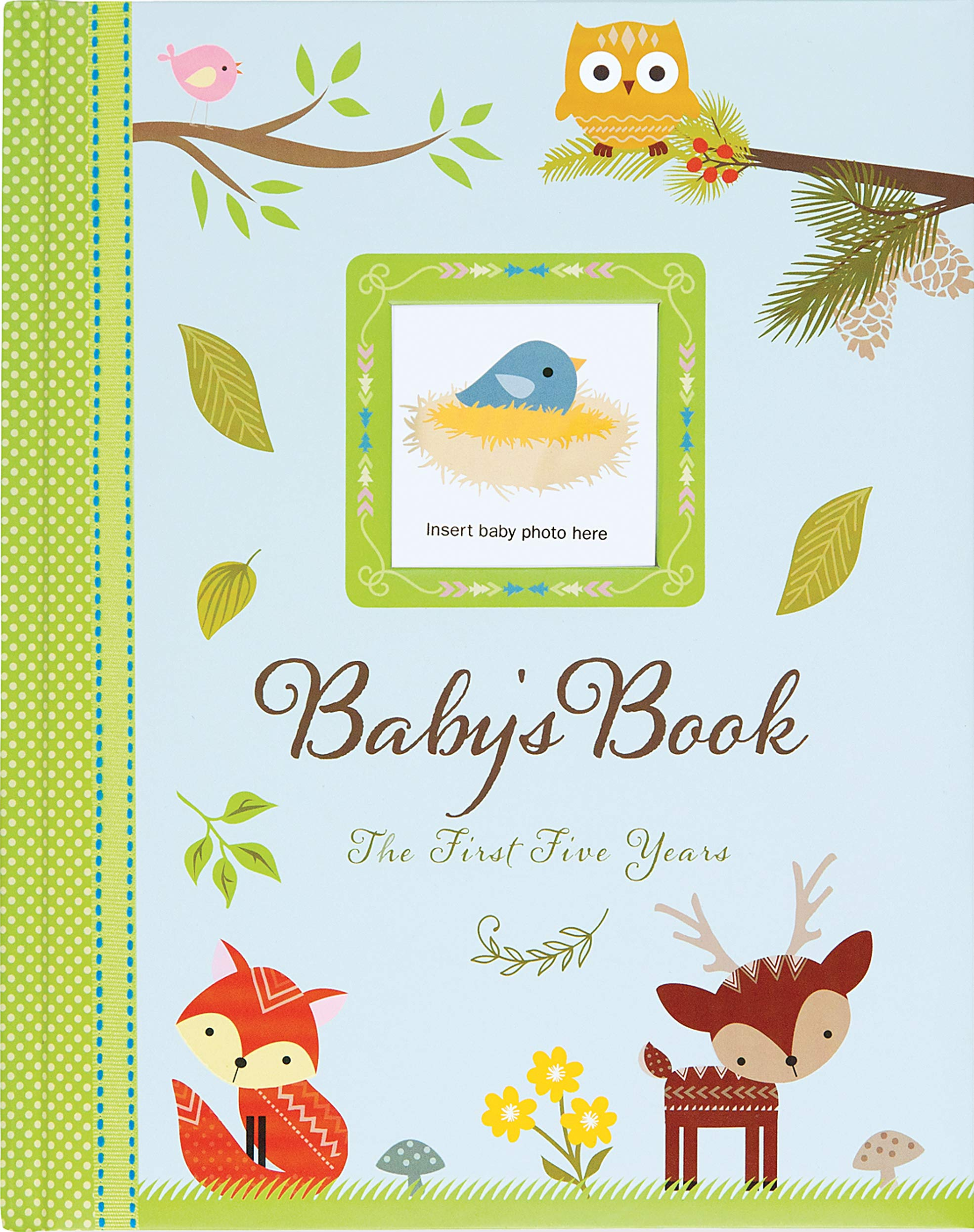 Baby's Book: The First Five Years (Woodland Friends): Peter Pauper Press:  9781441319760: Amazon.com: Books