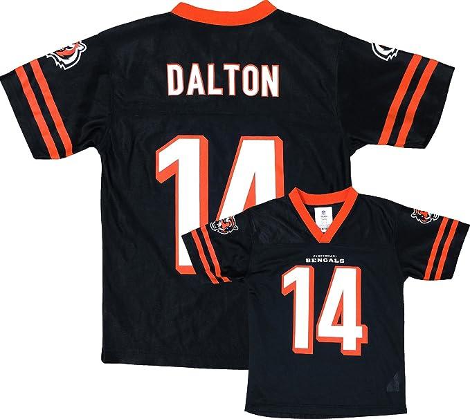 Outerstuff Andy Dalton Cincinnati Bengals Black Home Player Jersey Youth  (Large 12 14) de5046ba8
