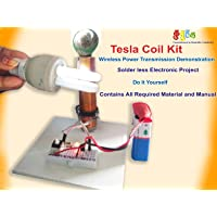 Kutuhal Wireless Transmission Demonstration Tesla Coil DIY Kit (Multicolour)