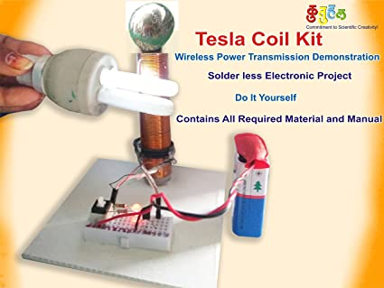 Buy kutuhal wireless transmission demonstration tesla coil diy kit kutuhal wireless transmission demonstration tesla coil diy kit multicolour solutioingenieria Gallery