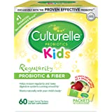Culturelle Kids Regularity Probiotic & Fiber Dietary Supplement | Helps Restore Regularity & Keeps Kids' Digestive Systems Running Smoothly* | Works Naturally with Child'S Body* | 60 Single Packets