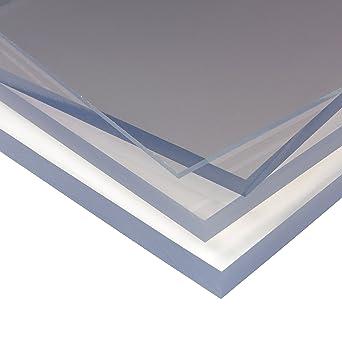Palram - Panel de plástico transparente de policarbonato de alto impacto, panel de acristalamiento de