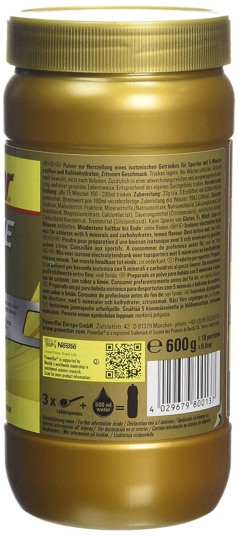 6178c7bd16e Powerbar Boisson Energétique Isoactive Goût Lemon Flavour: Amazon.fr:  HygiÚne et Soins du corps