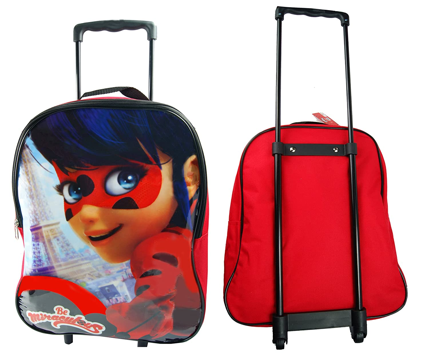 Amazon.com | Trolley Bag, Trolls & PJ Masks & Ladybugs Arch Trolley Bag, Official Licensed (Ladybugs) | Carry-Ons