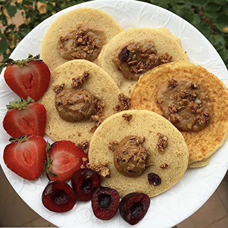Mantequilla de almendra con cerezas y vainilla pura ...