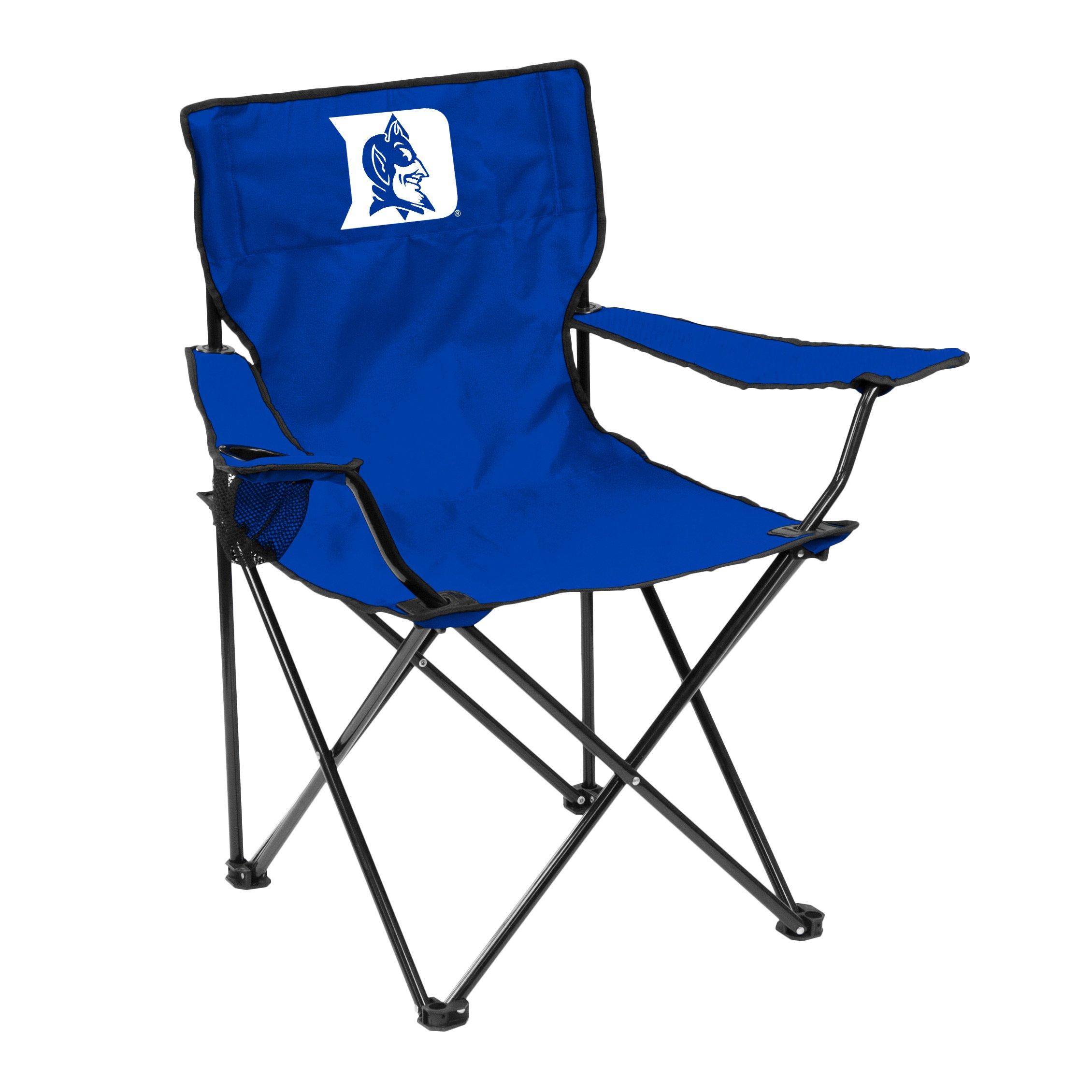 Logo Brands NCAA Duke Blue Devils Adult Quad Chair, Royal