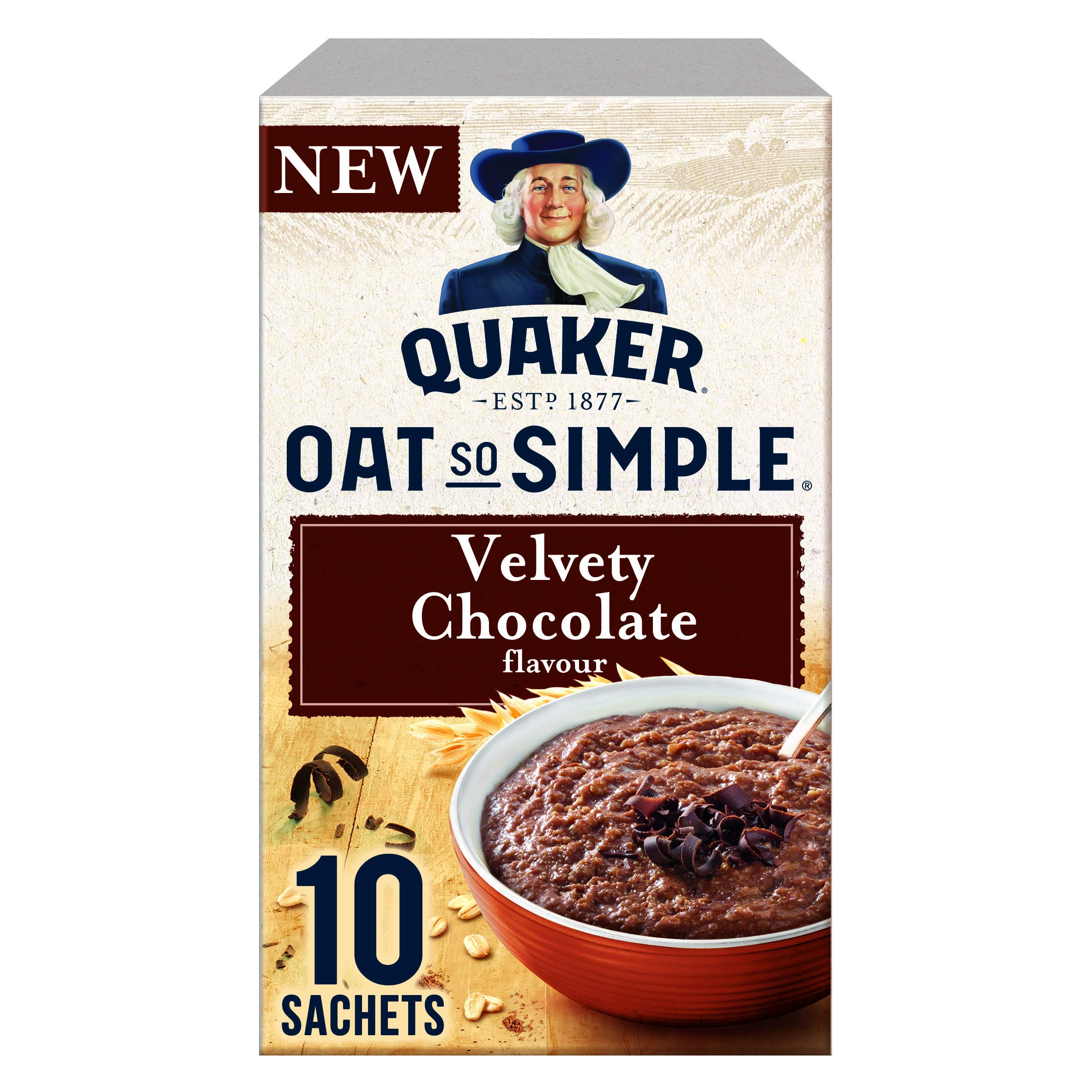 Quaker Oats So Simple Chocolate Sachets, Pack of 10