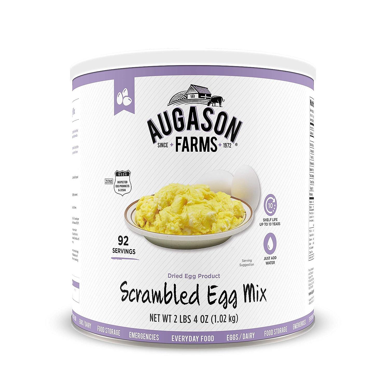 Augason Farms 5-90158 Scrambled Egg Mix, 2 lbs, 4 oz. No. 10 Can