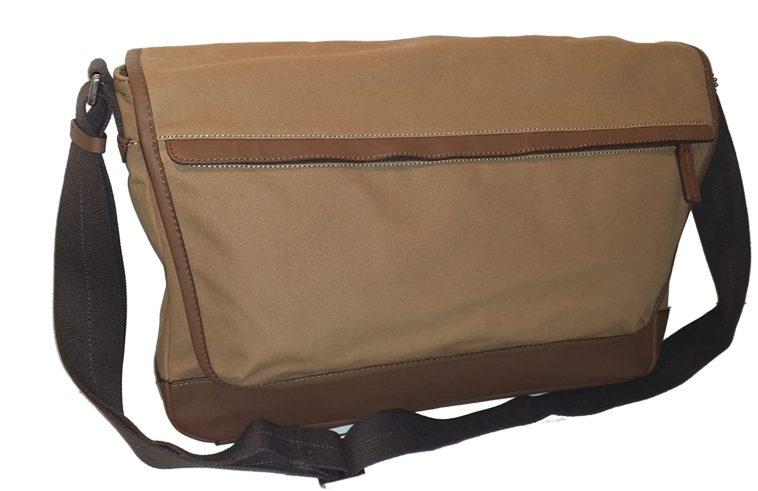 a61c672059 Amazon.com  Coach Men Camden Canvas Business Laptop School Messenger  Shoulder Bag Khaki 70829  Shoes