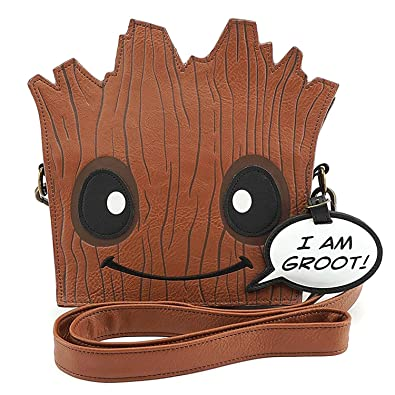 37a61a98 Loungefly Marvel Guardians of The Galaxy Groot Crossbody Bag Standard