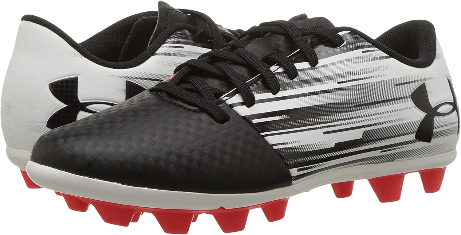 e0080bbe933f Amazon.com | Under Armour Kids Spotlight DL FG-R Jr Soccer Cleats | Soccer