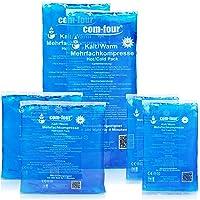 COM-FOUR® Pack ahorro de compresas multiusos, 3tamaños distintos