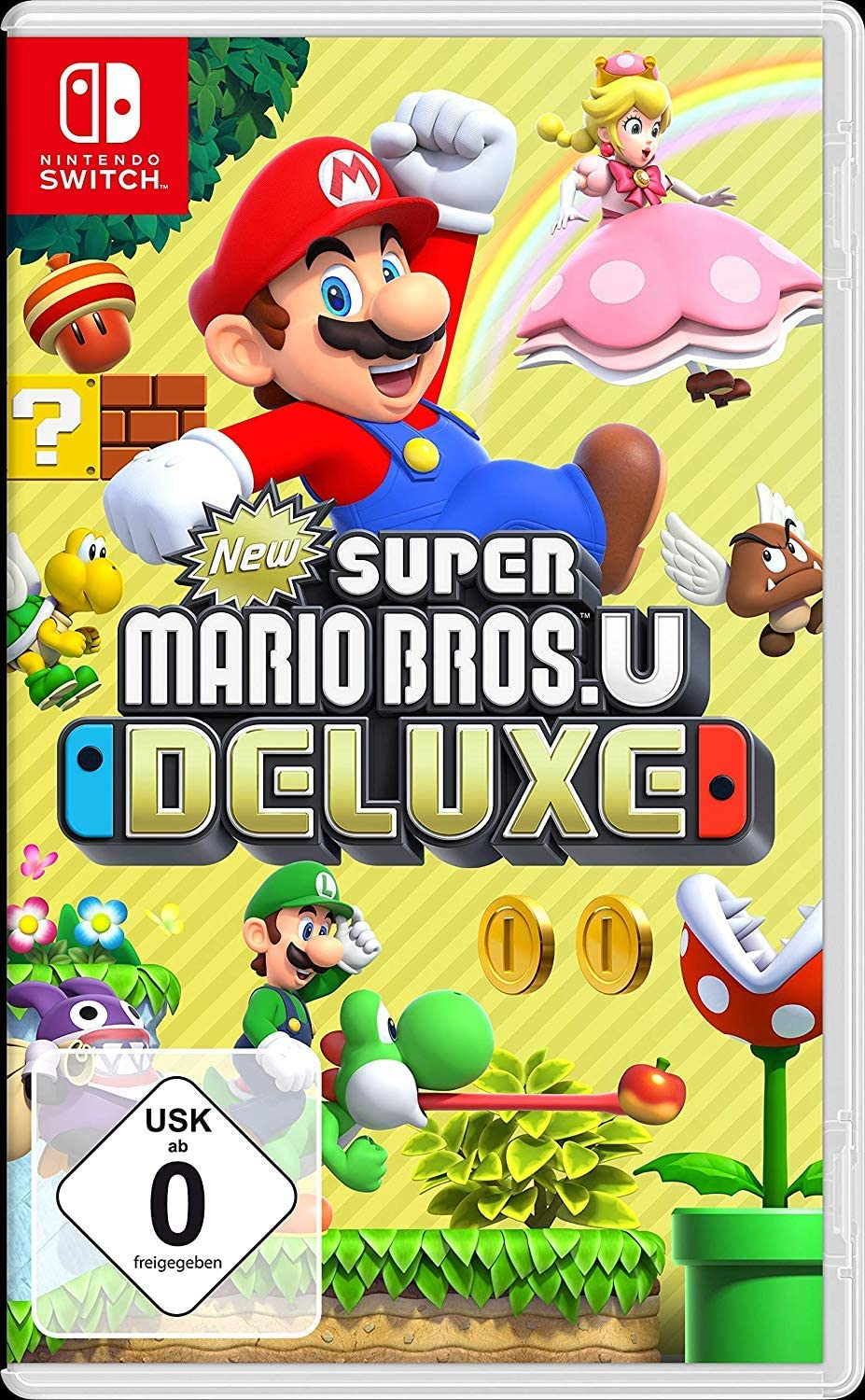 New Super Mario Bros. U Deluxe - [Nintendo Switch] [Importacion Alemania]: Amazon.es: Videojuegos