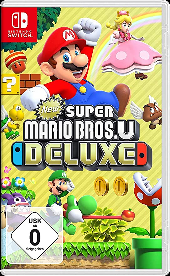 New Super Mario Bros. U Deluxe - [Nintendo Switch] [Importacion ...
