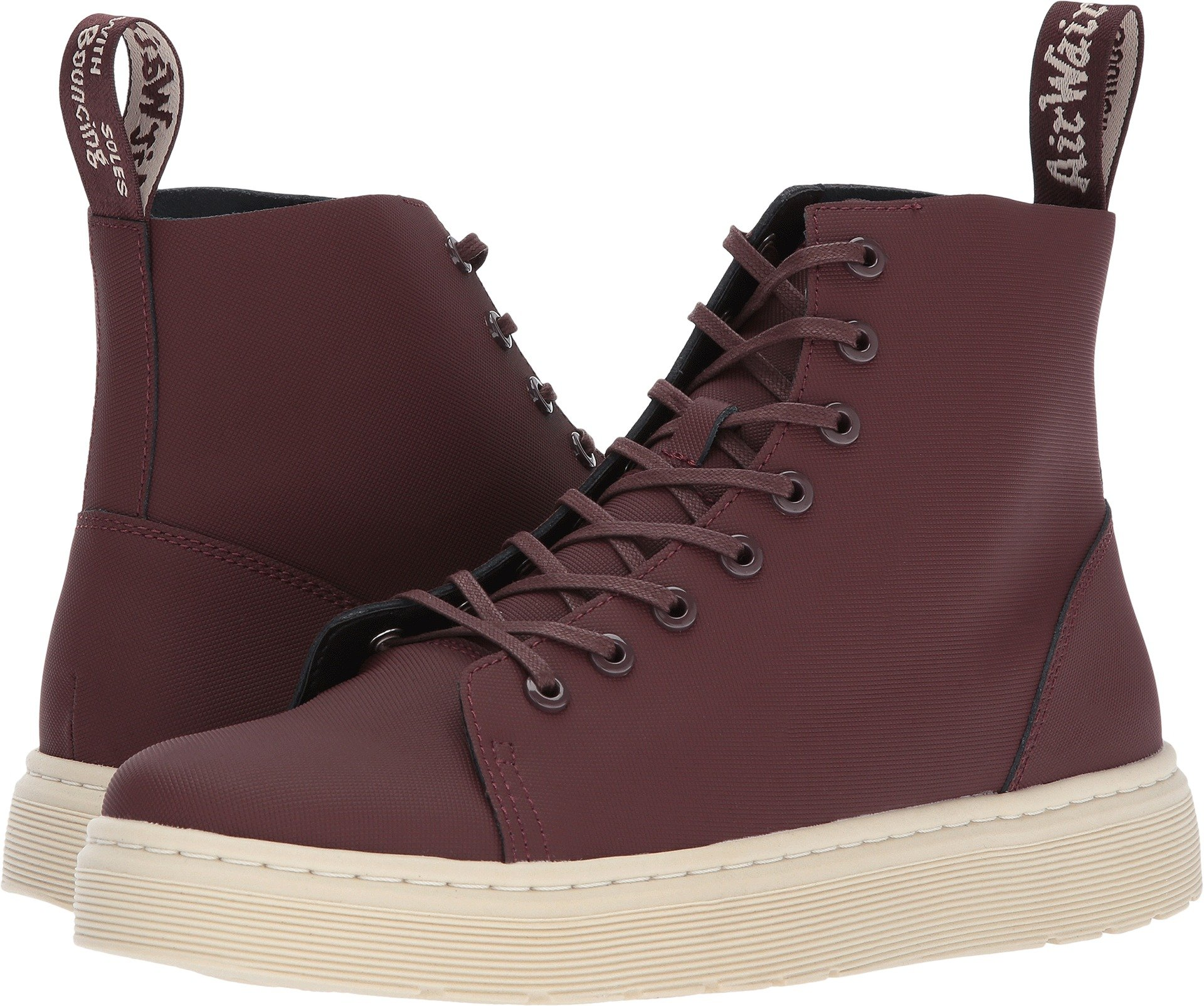 Dr. Martens Unisex Talib 8-Eye Raw Boot Old Oxblood Ajax 11 M UK