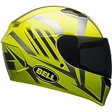 Bell Qualifier Blaze Full-Face Motorcycle Helmet (Gloss Hi-Viz Yellow/Black, Medium)