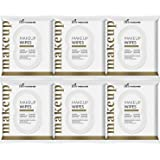 ArtNaturals Makeup Remover Cleansing Wipes-Towelettes – 6 Pack – Facial Wipes Remove All Makeup Including Waterproof Mascara – for Sensitive Face and Skin with Cotton Extract– 30 Count per Pack
