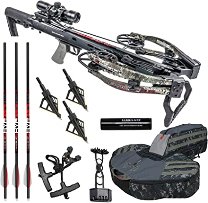 Killer Instinct Rugged Soft Case for Narrow Limb Crossbows with Backpack Straps