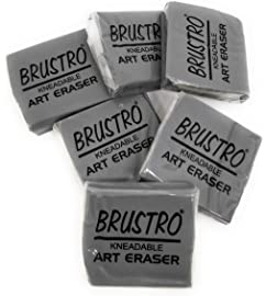 Brustro Kneadable Art Eraser  Pack of 6