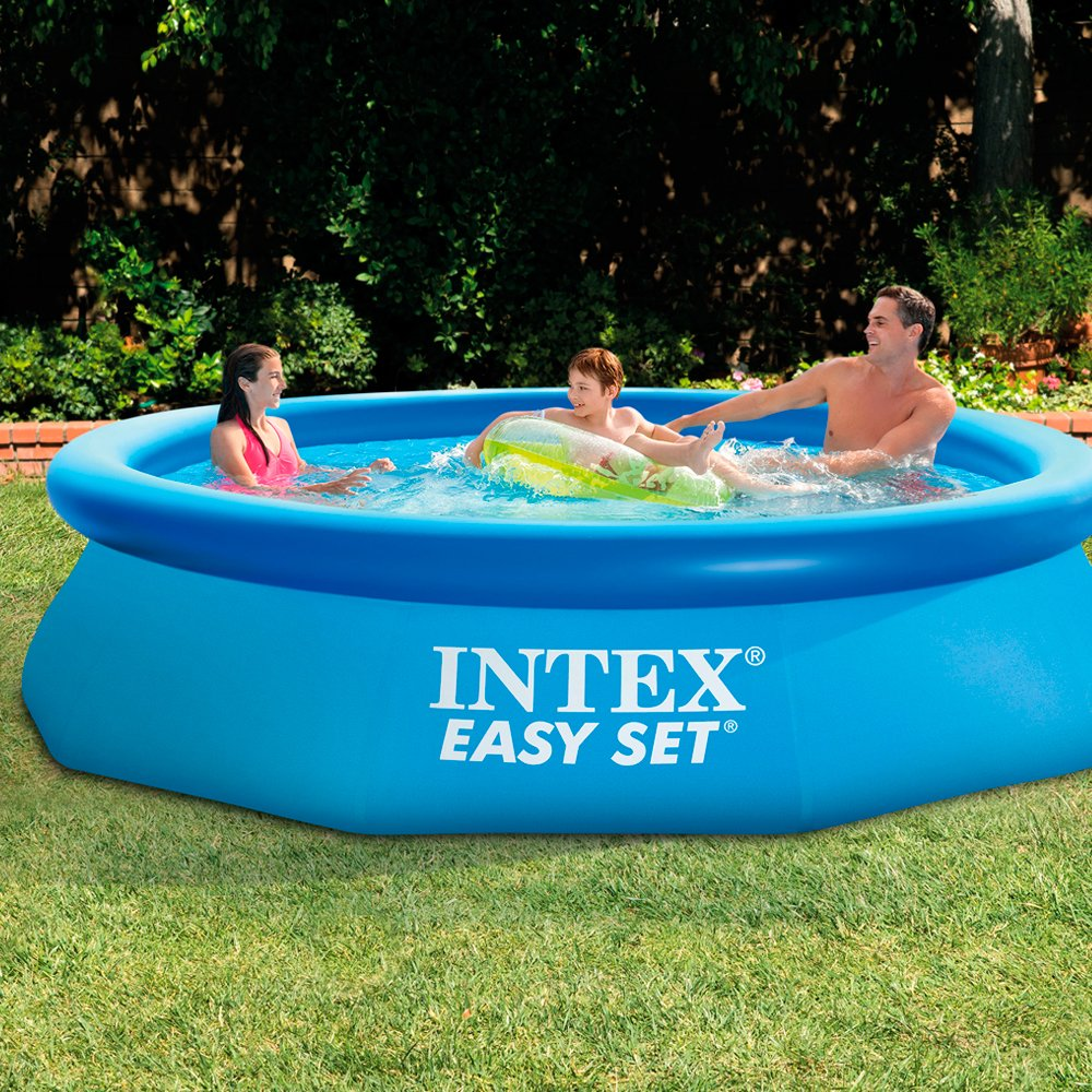 Above ground inflatable pool interior design Intex inflatable swimming pool