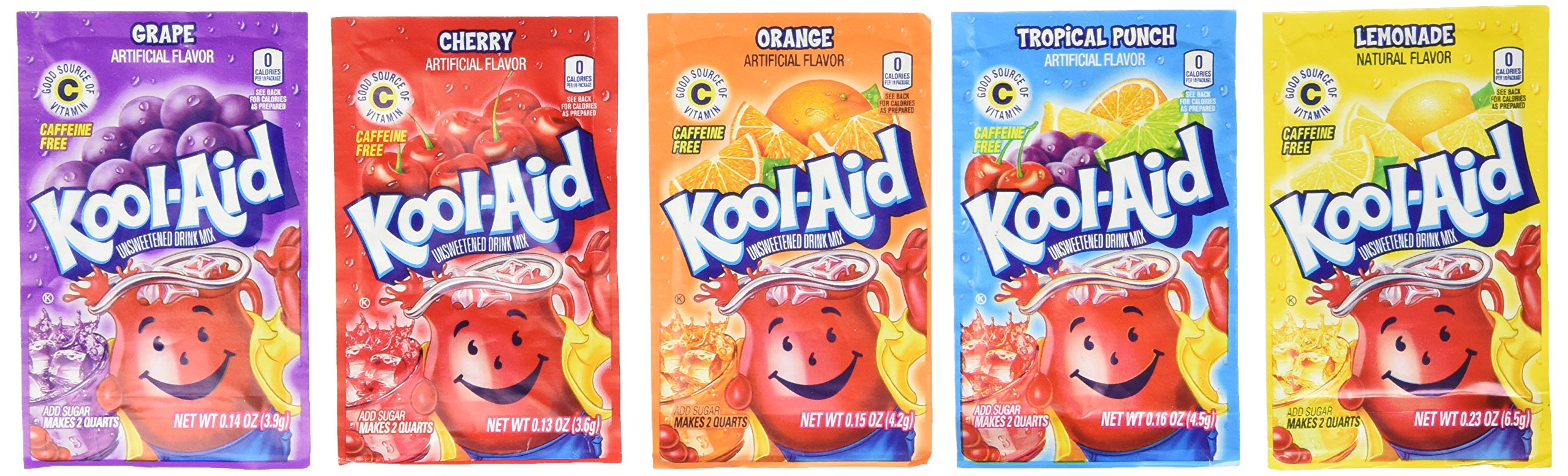 Amazon Kool Aid Variety 48 Packs Powdered Drink Mixes