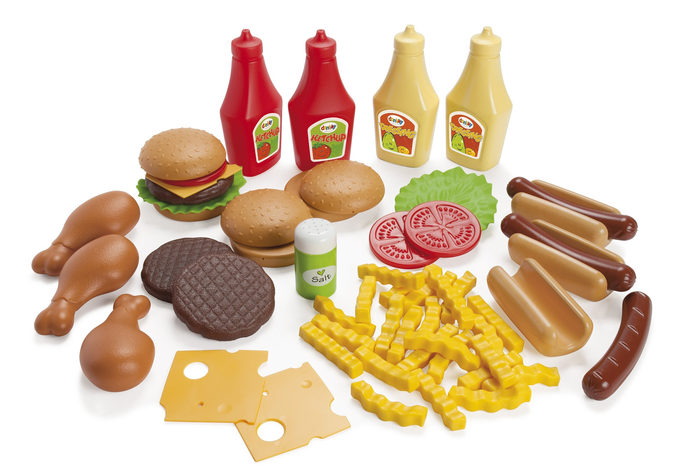 American Educational Products DT-7010 BBQ Food Assortment Activity Set, 3.512'' Height, 8.976'' Wide, 14.82'' Length