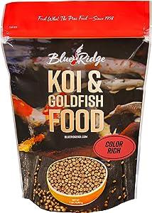 Blue Ridge Fish Food, Color Rich Formula 3/16