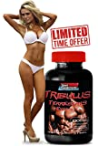 Tribulus Terrestris Extract 1000mg - Top Natural Testosterone Booster - Premium Qaulity (1 Bottle 90 Tablets)
