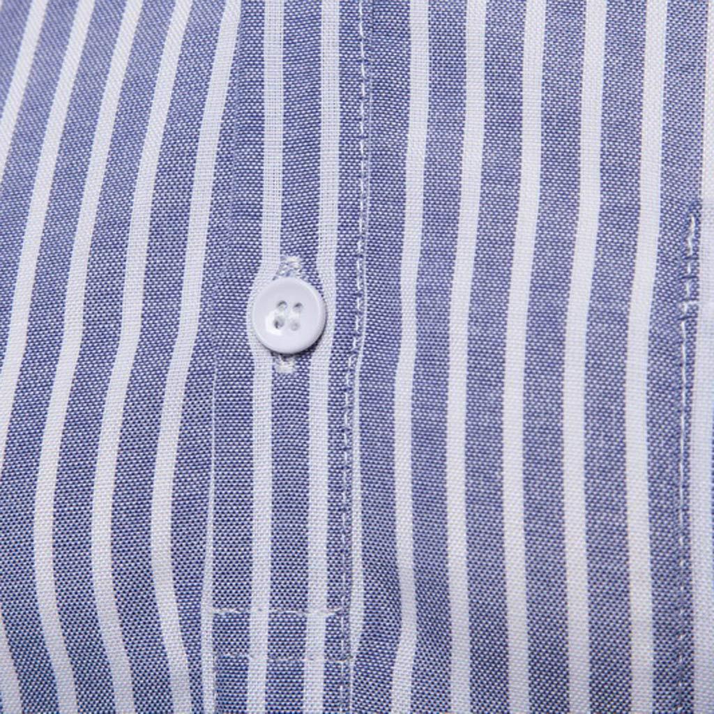 Longra Mens Loose Shirt Button Down Blouse Casual Long Sleeve Printed Shirts